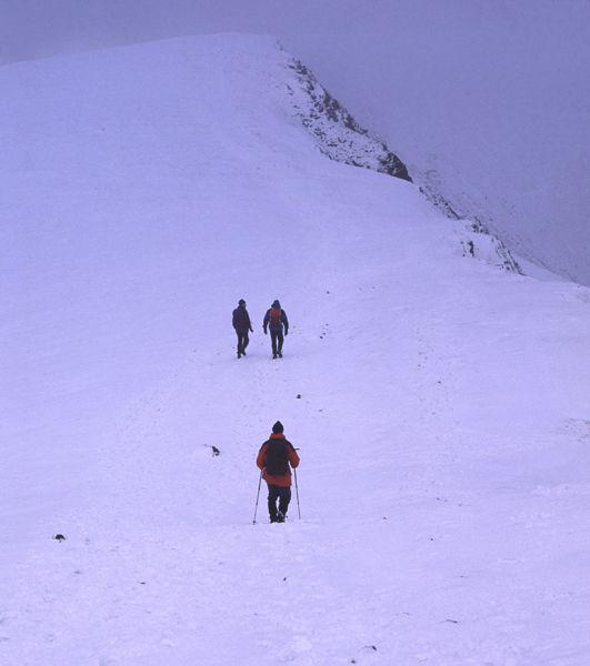 Summit nearing.