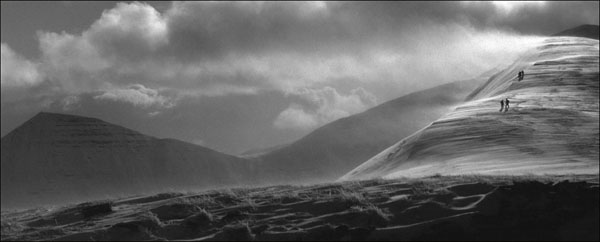 A break in the weather, Brecon Beacons.