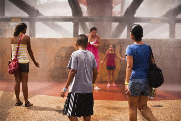 Very wet fun