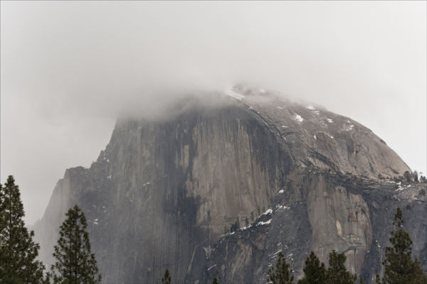 Weather on Half Dome