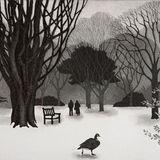 Snow Kew Gardens