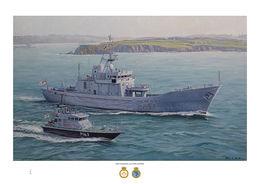 HMS Guernsey & HMS Express