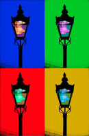 Brighton Street Light Pop Art