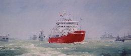 Trafalgar 200, Fleet Review