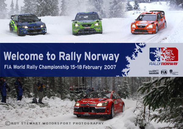 Rally Norway 2007