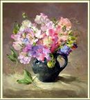 Sweet Peas by Anne Cotterill