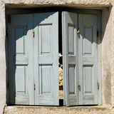 Sunbleached shutters