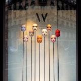 Window display, Place de la Republique.