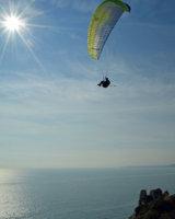 Jurassic Coast paraglider