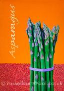 Asparagus - Acrylic on board - framed