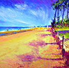 The Beach at Royan - (sold)
