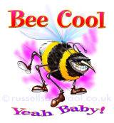 Bee Cool - Greetings card