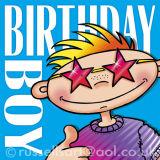 Birthday Boy - Greetings card