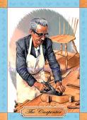 The Carpenter - Watercolour (sold)