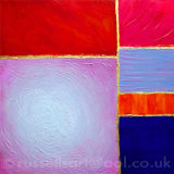 Colourful Void - Acrylic painting original