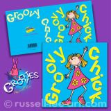 Groovy Chick - Greetings card