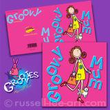 Groovy Mum - Greetings card
