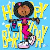 Happy Birthday - Greetings card