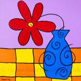 The jazzy One - Acrylic on canvas