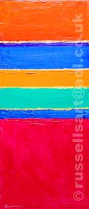 Multi-Storey Colour - Acrylic on canvas