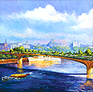Nature Crossing the Thames - Garden Bridge (Sold)