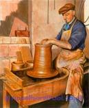 The Potter - Watercolour (nfs)