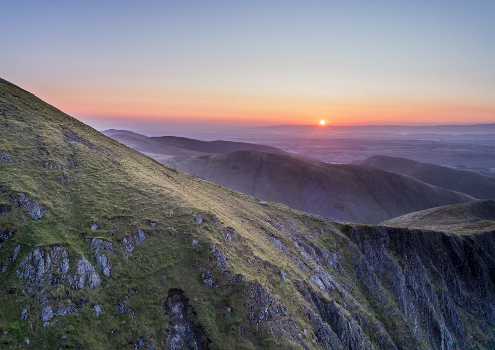 Sunrise over Blencathra