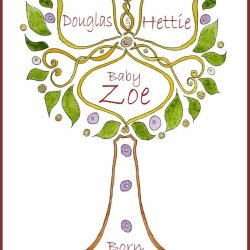 Birth Tree design no 1