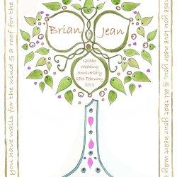 Wedding Tree design no4