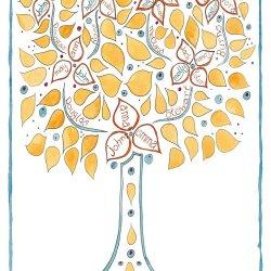 Family tree design D10