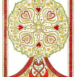 Celtic Irish Blessing Tree