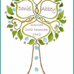 Wedding Tree design no2