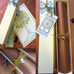Gift box packaging service for Blessing Trees