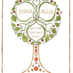 Wedding Tree design no1