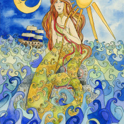 The Galloway Mermaid
