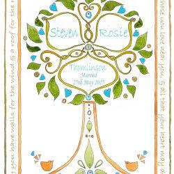 Wedding Tree Design no8