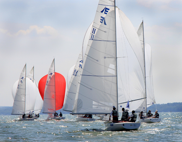 Etchells Invitational Cowes 2014