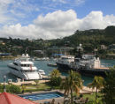 Home to the super yachts and the Regatta base