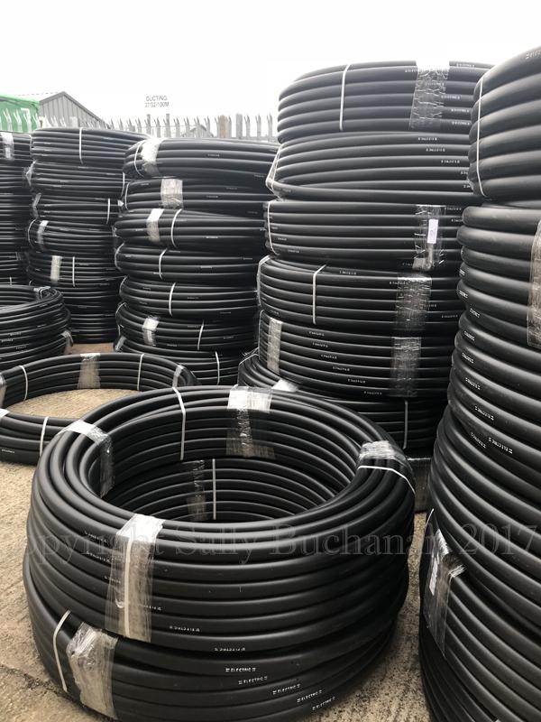 Nylon tubes ready for making Arca Dei