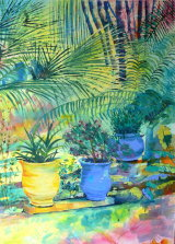 Colours of the Majorelle - SOLD