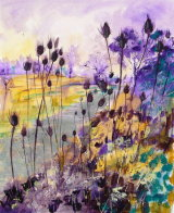 Winter Woods and Teasels