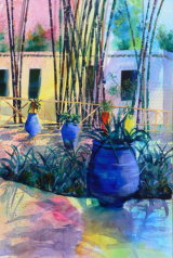 Colourful Majorelle - SOLD