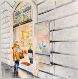 Shopping Roman Style - Jimmy Choo - SOLD