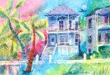 The Blue House - Galveston - SOLD