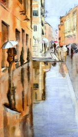 A Rainy day in Rome!