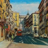 Calle Toledo(41x33cms / Óleo sobre tabla / Precio aprox 370 Euros)