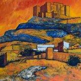 Castillo de Segura de la Sierra, Jaén (92x61cms / Óleo sobre lienzo / Precio aprox 865 Euros)