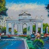 Puerta de Alcala (41x33cms / Óleo sobre tabla / Precio aprox 370 Euros)