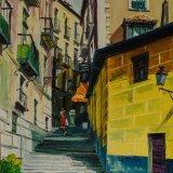 Calle del Conde (33x41cms / Óleo sobre lienzo / Precio aprox 350 Euros)