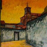 Ocaña, Toledo (91,5x73cms / Óleo sobre lienzo / Precio aprox 1845 Euros)